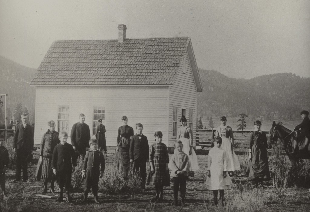 Willow Creek School 1886