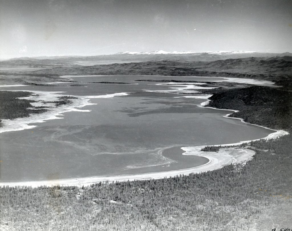 A view of Eagle Lake in 1950.