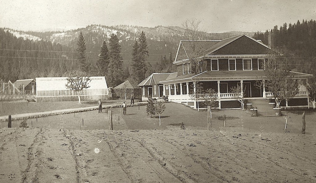 Wingfield's Meadowbrook Ranch circa 1911. Courtesy of Fred and Alyce Bangham