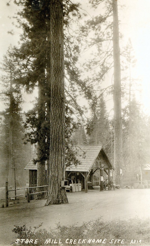 Mill Creek Store. Courtesy of Margaret A. Purdy