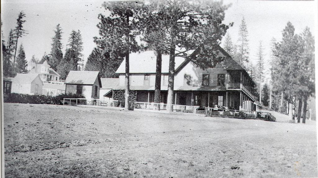Longville Hotel, circa 1915. Courtesy of Plumas County Museum