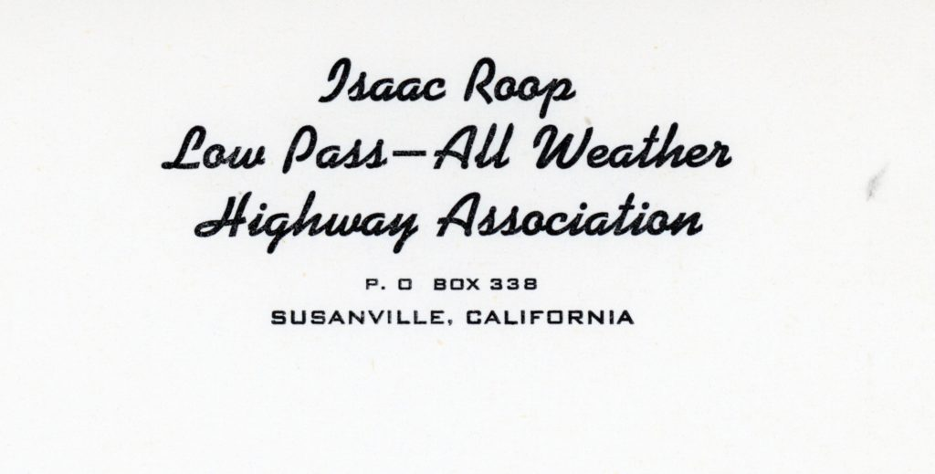 The Association's letterhead.