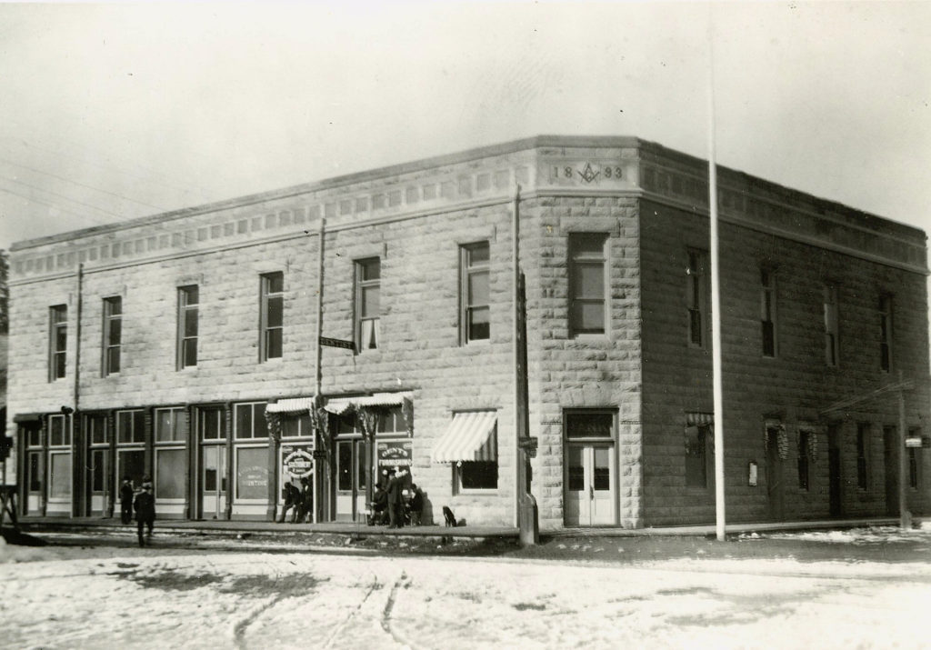 Susanville's Knoch Building, 1900. For many years it housed the Government Land Office. Courtesy of Philip S. Hall