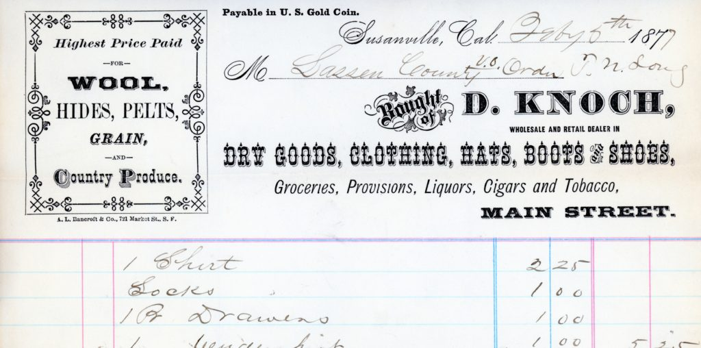 History Exploring Lassen Countys Past Page - Best free invoice app pioneer woman mercantile online store